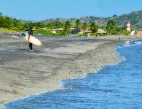surfing lessons in playa venao