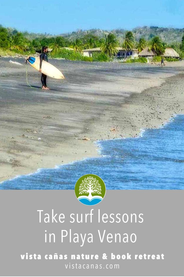THINGS TO DO IN PLAYA VENAO: Take surf lessons in Playa Venao | VISTACANAS.COM