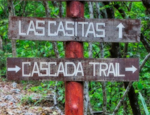 hike to a playa venao waterfall & beyond
