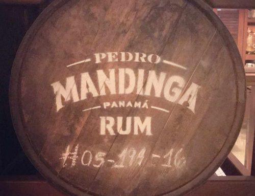 rum tasting at mandinga rum bar