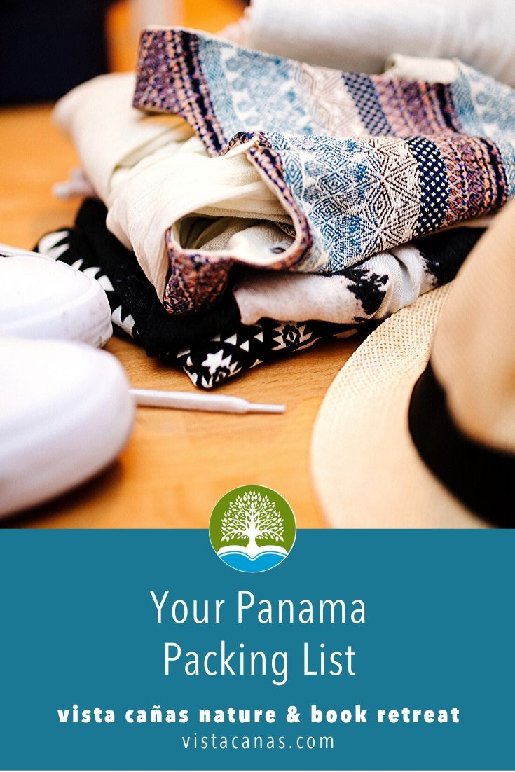 Panama Packing List | VISTACANAS.COM