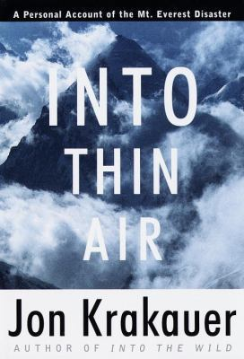 Into Thin Air by Jon Krakauer | VISTACANAS.COM