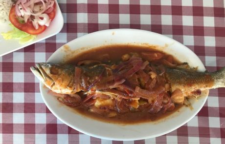 Mercado de Mariscos — Fish Stew at Panama City Fish Market | VISTACANAS.COM