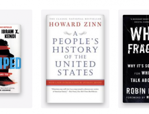 a long list of books about racism & black history