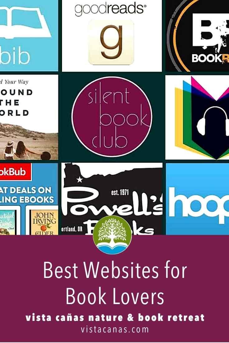 Best Websites for Book Lovers | VISTACANAS.COM